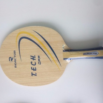 Reactor Fiber table tennis blade with Ayous
