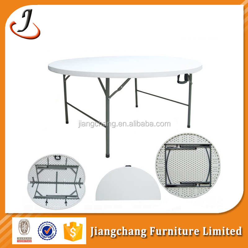 Folding Round Plastic Catering Table Designs JC-T184