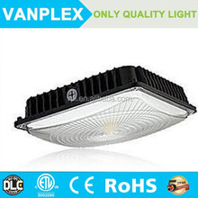 High lumens 70w gas station led canopy lights with driver