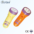 Adorable Bear's paw led mini rechargeble super bright led flashlight