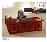 high quality MDF WOOD modern executive desk high end office furniture factory sell directly HP17