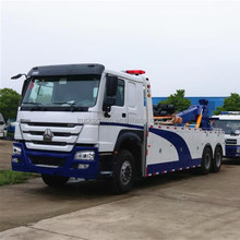 Sinotruk Howo 6x4 50 Ton Heavy Road Wrecker Towing Truck for sale