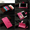 With photos frame flip leather case and soft tpu case inside for iphone 6s and for iphone 6/ 6s plus