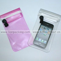 Waterproof pouch for ipad clear transparent pvc pouch