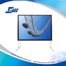 Portable design outdoor projection screen for activity