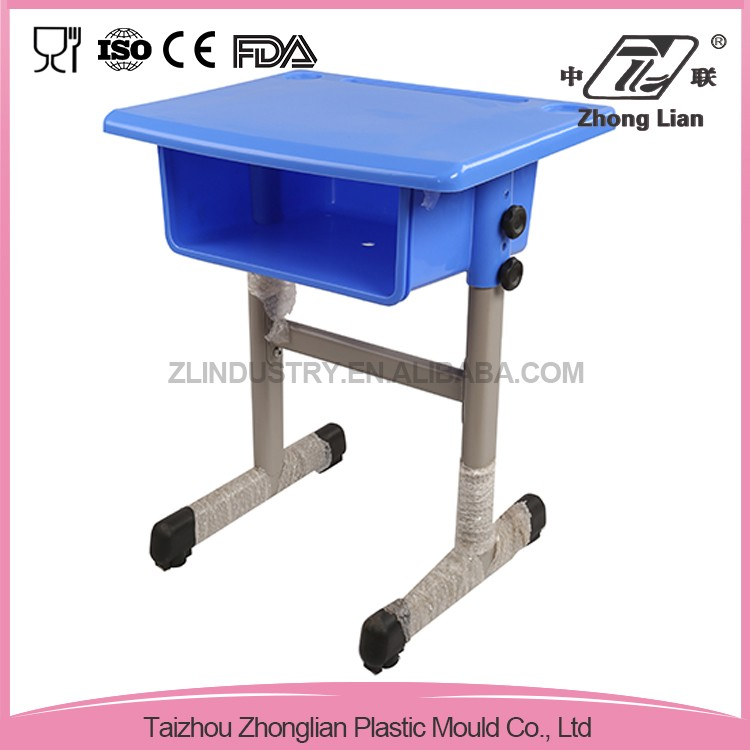 ZL-01-01D Plastic Adjustable Plastic Children Desk and chair