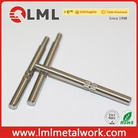 CNC Automatic Lathe Turning Precision Motor Shell Pin