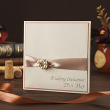 English wedding invitation card