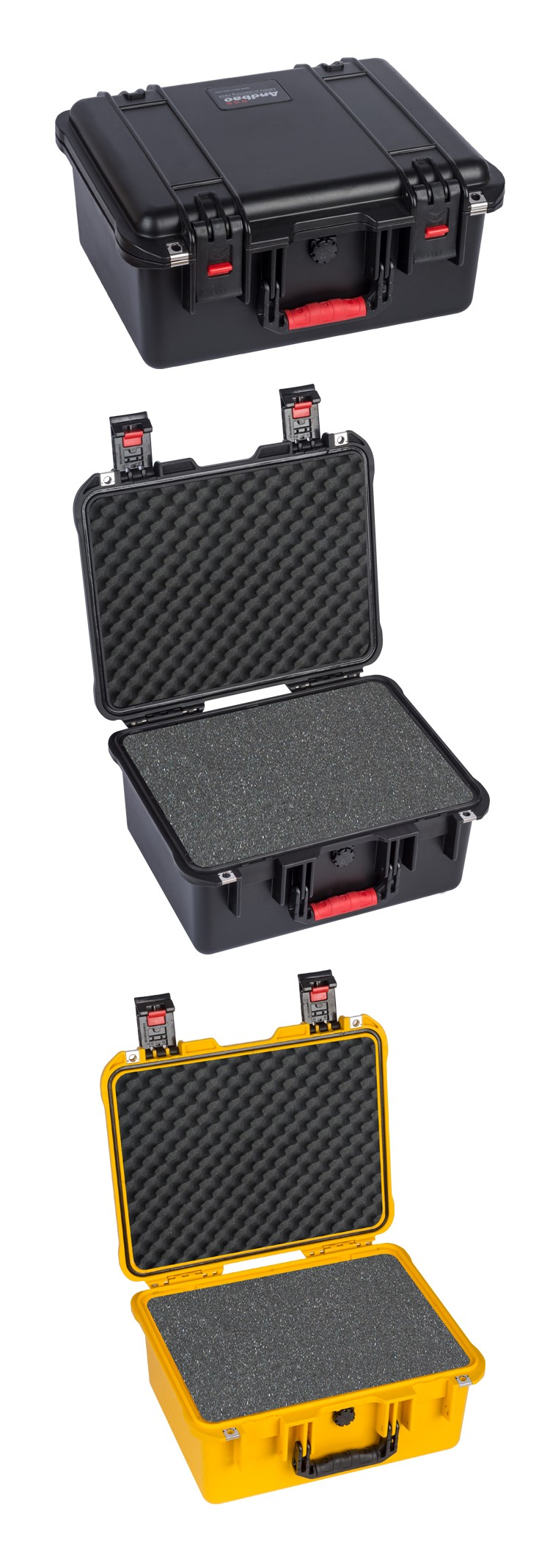 Watertight high quality abs equipment case
