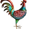 Outdoor Rooster Decoration Animal Metal Garden