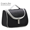 2015 Black promotional fashion make up Toiletry cosmetic bag wholesale,women/men cosmeitc bag