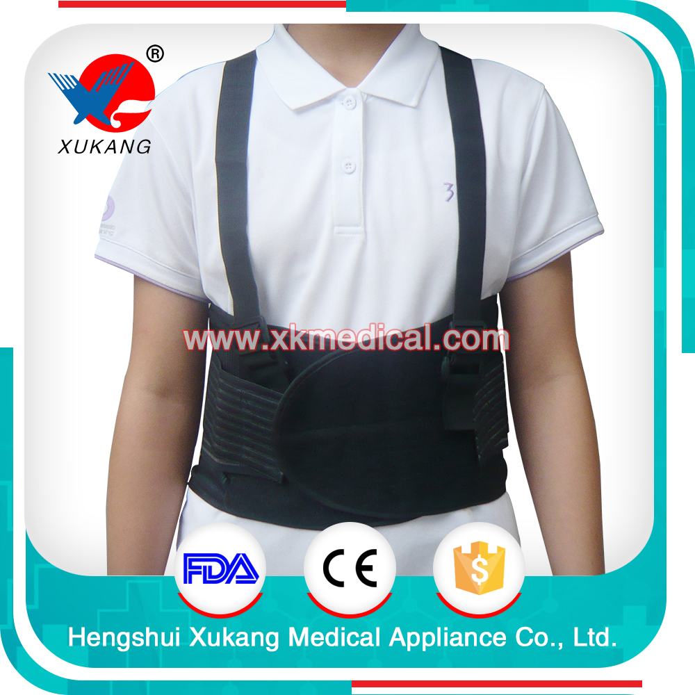 Medical slim Waist Belt Working Lumbar Back Support Brace Belt