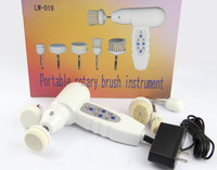HOT!!! home use sonic facial cleaning brush galvanic facial machine for skin whitening LW-019