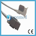 GE Ohmeda OXY-F4-MC Spo2 sensor,9 pin gray connector