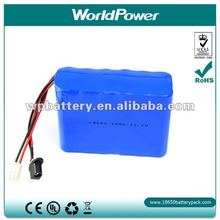 2012 Newest 11.1V 10AH Lithium battery pack