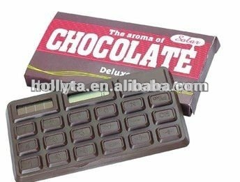 Shenzhen factory OEM chocolate calculator with good smell