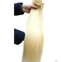 7A 2015 Alibaba Hot Sale Virgin Brazilian Hair Remy Human Hair Russia Blonde Color hair Extensions