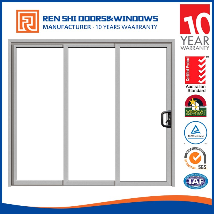 New zealand anti-noise glass korean sliding doors