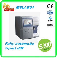 Clinical analytical instrument use full auto blood hematology analyzer/blood cell count machine price for sale with open agent