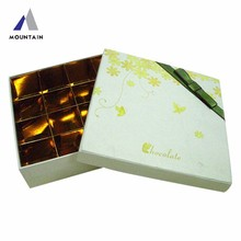 design easter Latest handmade and handsome free sample laser cut and printing paper chocolates box wholesale