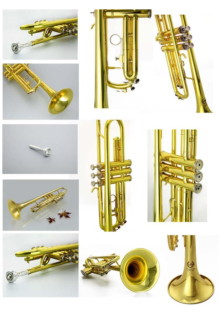 Brass Wind Musical Instrument Trumpet - Buy Trumpet ...