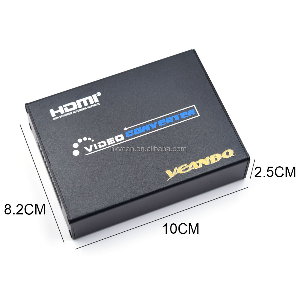1080P Scart to Hdmi Video Converter Adapter
