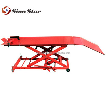 Motorcycle Lift /Motorcycle lift table/scissor car lift flush(SS-Z04104)
