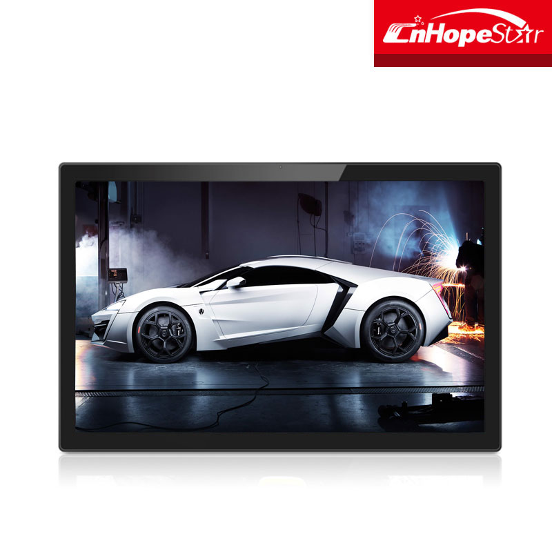 Touchscreen Android WiFi 1080P IPS Advertising Player 24 inch Advertising Display