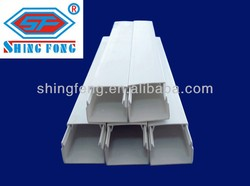 China Manufacturer PVC Gutter For Electrical Cable