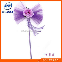 Gift for children ,Candy color Angel Magic Wand Flower Fairy Wand