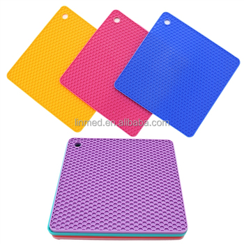 Factory Silicone Dish Drying Mat Sinks Protector Pad Non Slip Mat