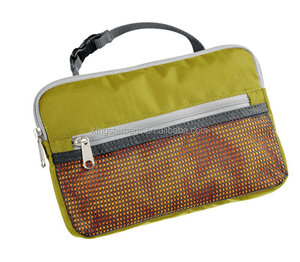 Durable Easy Carry Travel Kit Toiletry Wash Bag With Mesh Window