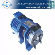 Motor for residential elevator gearless traction machine elevator