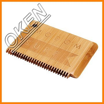WA-020 plain Surboards customized logo wax comb in surfing