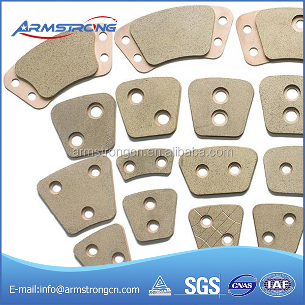 Excellent friction performance sintered clutch plates