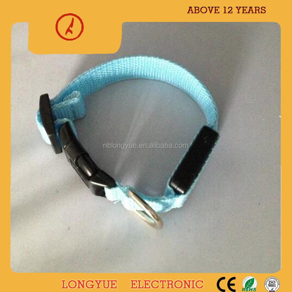 Factory supply dogs and puppies for sale waterproof dog collar led