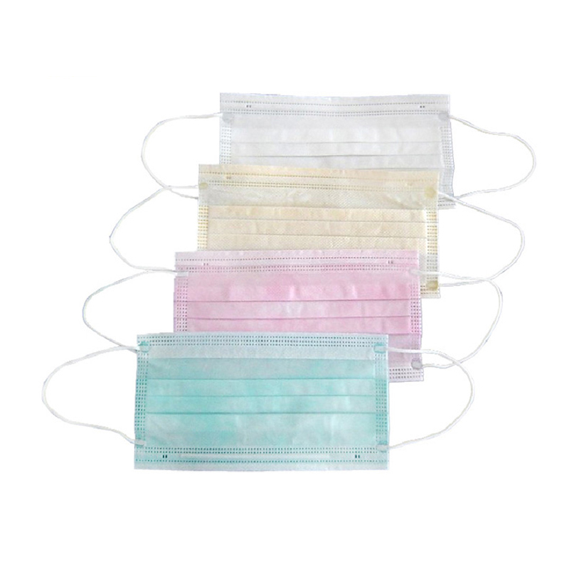 Health clinical best non woven 3 ply dental disposable face mask surgical face mask