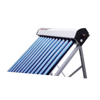 High quality copper evacuated tube solar collector