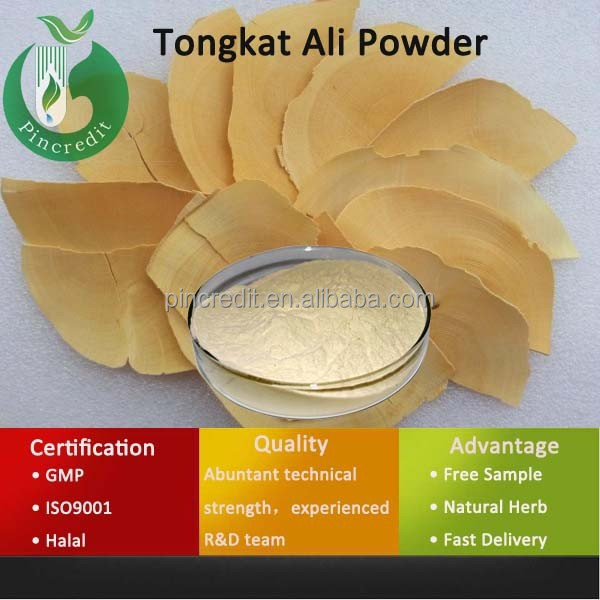 Factory supply Top Quality 200:1 100;1 pasak bumi root extract powder/pasak bumi