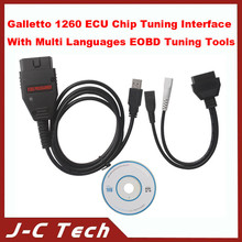 2015 Galletto 1260 ECU Chip Tuning Interface With Multi Languages EOBD Tuning Tools Made In China