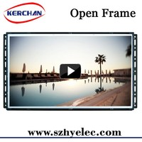 15.6 inch open frame sample advertisement sale