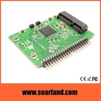Factory direct msata mini pcie ssd to ide 2.5 converter adapter