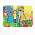 Factory price rick and morty silicone smoking mat banking transparent silicone mat