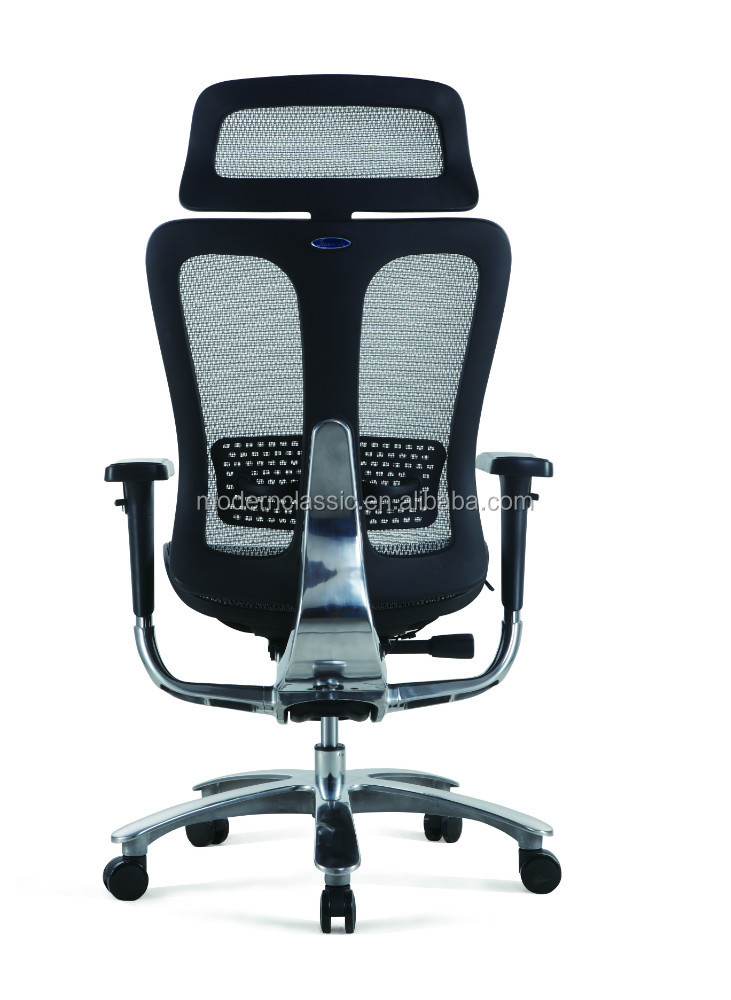 Luxury ergonomic office chair aluminium frame and full mesh ergohuman v2 chair president chair
