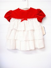 latest fancy pictures of neck designs girls cotton eyelet embroidery fabric blouse or tops for girls