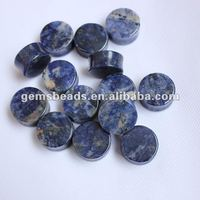 Natural stone gauge ear plug 1