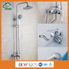 Factory wholesale chrome plating faucet hot cold water bath and shower mixer