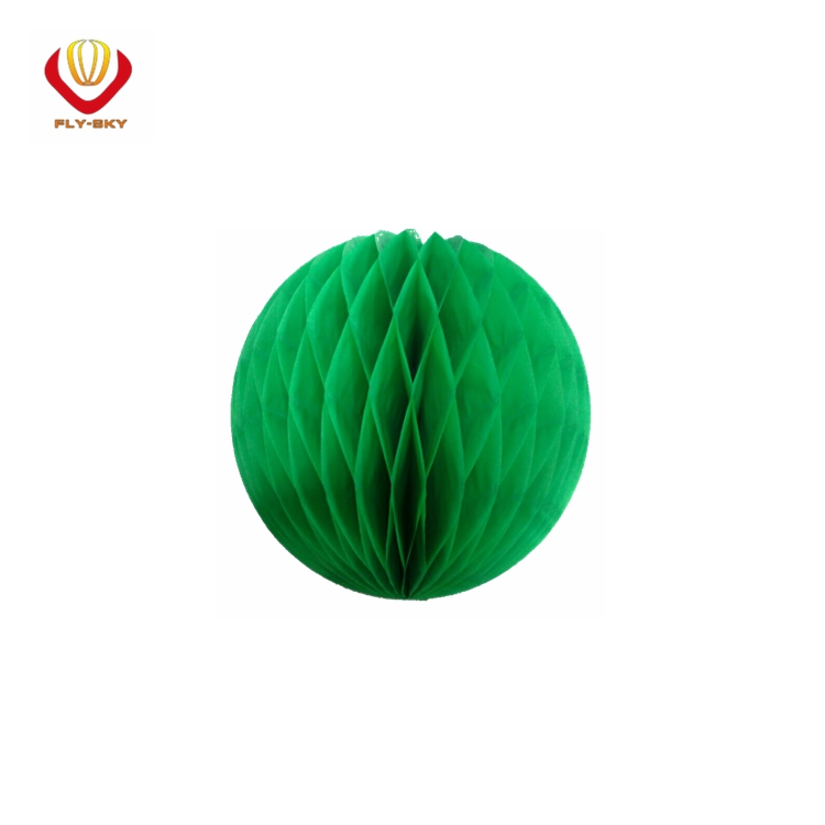 Supply high quality honeycomb paper craft ball for wedding decoration
