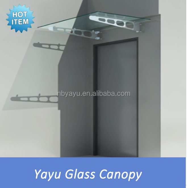 2015 Hot Sale Glass Awnings Canopies,glasvordach,door canopy fittings