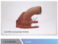 concrete pump truck parts outer housing pipes for sany pipe